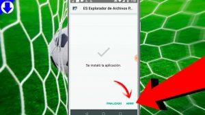 Instalación de la aplicación File Explorer