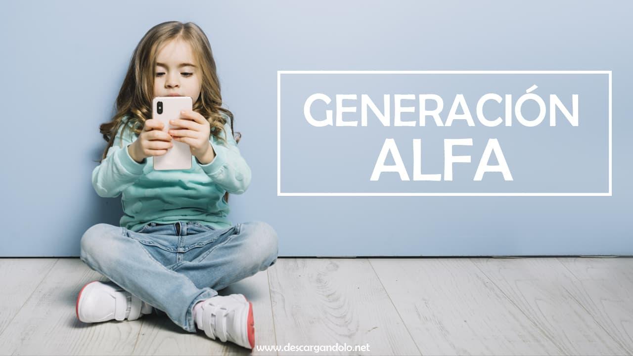 generación alfa 2020