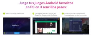 instalacíon bluestacks