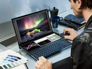 nueva laptop asus zenbook pro