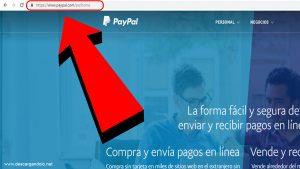 paypal pagina web