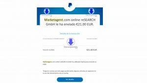 prueba de pago marketagent 2019
